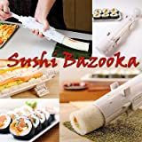 Sushi bazooka, Japanese Sushi making kit, Sushi bazooka machine, sushi maker tube,Kitchen Appliance Rice Roller, best kitchen sushi tool,Easy Sushi Cooking Rolls,