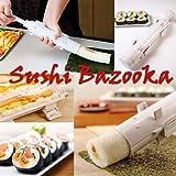 Sushi bazooka, Japanese Sushi making kit, Sushi bazooka machine, sushi maker tube,Kitchen Appliance Rice Roller, best kitchen sushi tool,Easy Sushi Cooking Rolls,