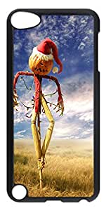 iPod Touch 5 Case, iPod Touch 5 Cases - Funny Christmas Scarecrow PC Polycarbonate Hard Case Back Cover for iPod Touch 5¨CTransparent