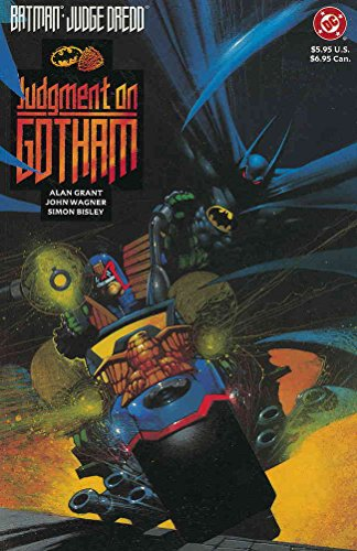 Batman/Judge Dredd: Judgment on Gotham #1 VF/NM ; DC comic book