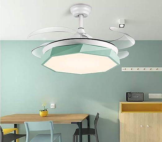 Luz del ventilador de techo luz del ventilador invisible de 42 ...