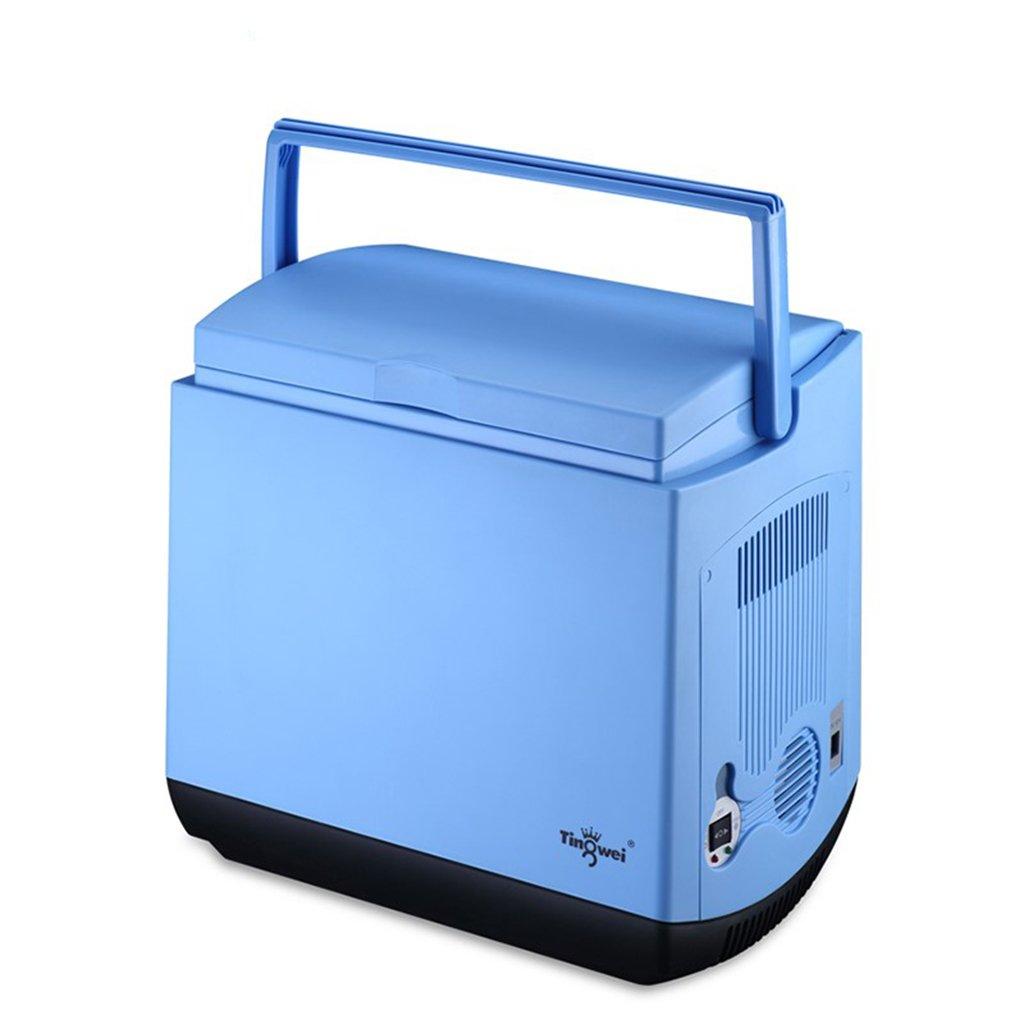 GJM Shop 車の冷蔵庫25Lデュアルコアカー12V /ホーム220Vデュアルユースミニ冷蔵庫   B07G6V3XKK