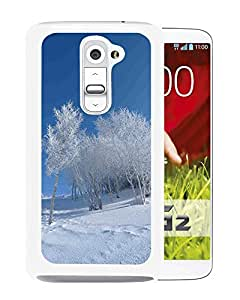 Nature Winter Snowy Field (2) Durable High Quality LG G2 Phone Case