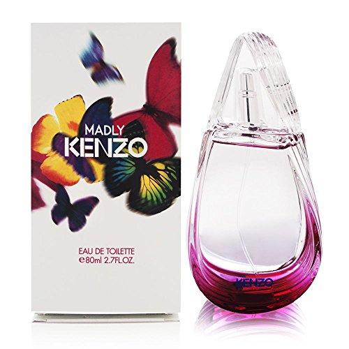 Kenzo Womens Eau De Toilette (Kenzo Madly Eau De Toilette Spray For Women 80Ml/2.7Oz)