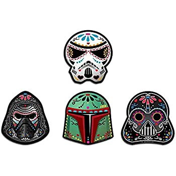 Sticker Pack: Star Wars Sugar Skulls   Kylo Ren, Darth Vader, Storm Trooper