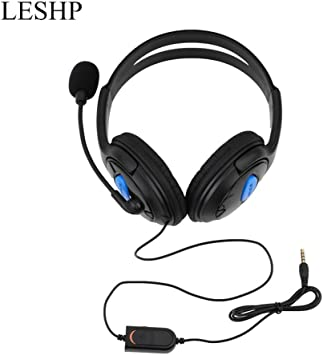 Wired Gaming Headset Headphone con micrófono para Sony PS4 ...