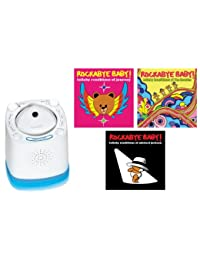Munchkin Nursery Sound Projector with Rockabye Baby Lullaby Renditions, Journey/Beatles/Michael Jackson BOBEBE Online Baby Store From New York to Miami and Los Angeles