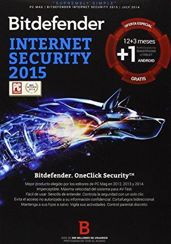 Bitdefender Antivirus Internet Security 2015 - Software De Seguridad, 2 Dispositivos
