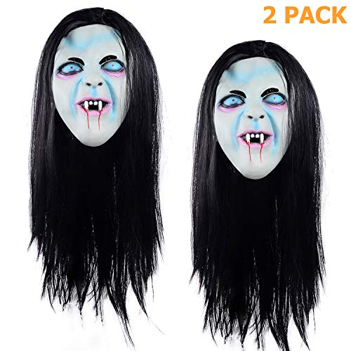 Ohuhu Halloween Ghost Mask Scream Costume Party Mask, Call of Duty Ghosts Masks, 2 Pack ()