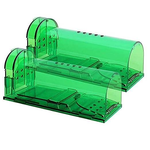Wan&ya Trampa para Ratones, Jaula Reutilizable y fácil de Usar ...