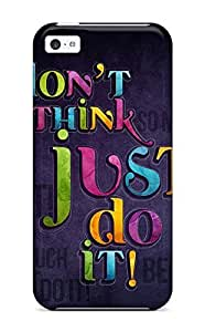Hot New Just Do It Case Cover For Iphone 5c With Perfect Design WANGJING JINDA