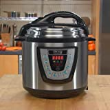 Pressure Pro Pressure Cooker Size: 8 Quart, Color: Black