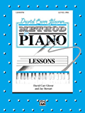 David Carr Glover Method for Piano / Lessons, Level 1