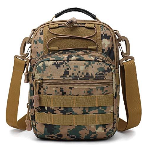 Men's Bag Messenger Size 2 color Camouflage 5 Shoulder Shoulders chest S Rxf qwFnTR1xn