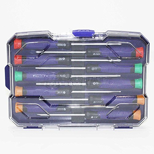Kobalt 10-Piece Precision Screwdriver Set With Case