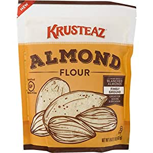 Amazon.com : Krusteaz Gluten-Free Almond Flour, 16 Ounce