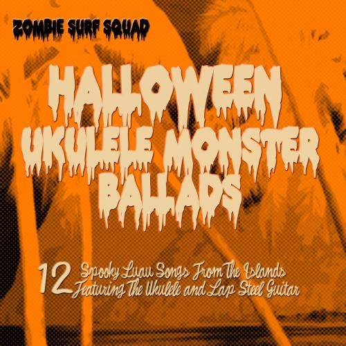 Halloween Ukulele Monster Ballads (Hawaiian Chairs)
