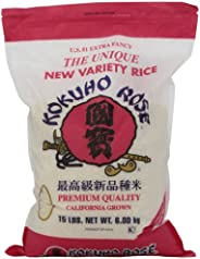 Kokuho Rose Rice, 15-Pound