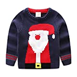 Product review for Mud Kingdom Boys' Santa Claus Sweater Pullover Christmas Clothing