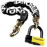 "Kryptonite 999485 Black 14mm x 39"" (1410) New York Fahgettaboudit Chain and New York Disc Lock"