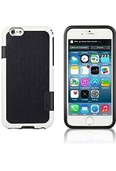 Francois et Mimi iPhone 6 Case Multi-Colored TPU - Retail Packaging - Black
