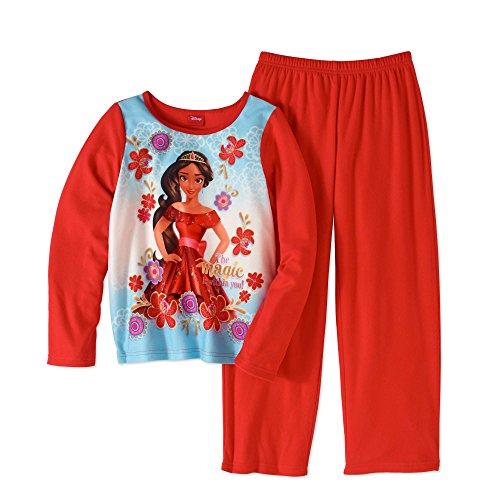 AME Elena of Avalor Girls 2 Piece Flannel Pajama Set - Piece Pajama Flannel 2