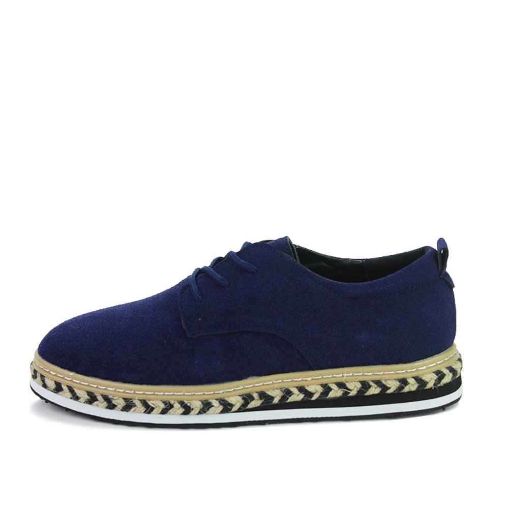 Fall von koreanischen Mode casual Herrenschuhe Hohen dicken Sohlen Plateauschuhen Low-cut-Spitze Schuhe Gezeiten-Schuhe