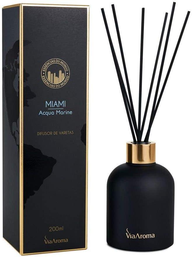 Difusor Varetas Mundo Miami - Via Aroma