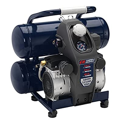Campbell Hausfeld DC080500 8-Gallon Quiet Air Compress