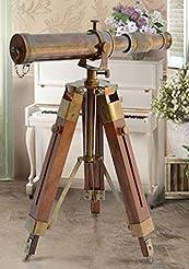 Nautical Brass Antique Telescope Spyglas...