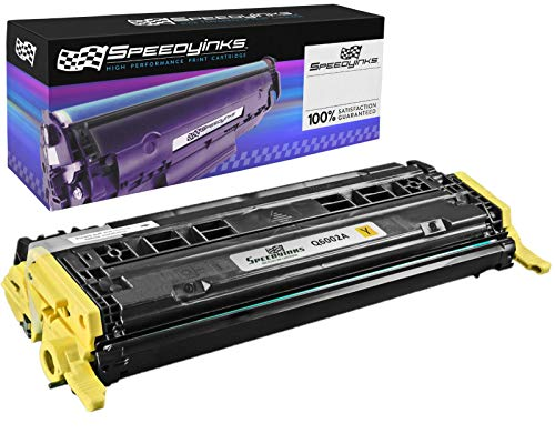 Speedy Inks Remanufactured Toner Cartridge Replacement for HP Q6002A ( Yellow )