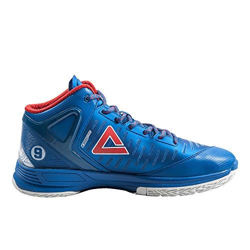 Peak Tp2 Herren Basketballschuhe blau