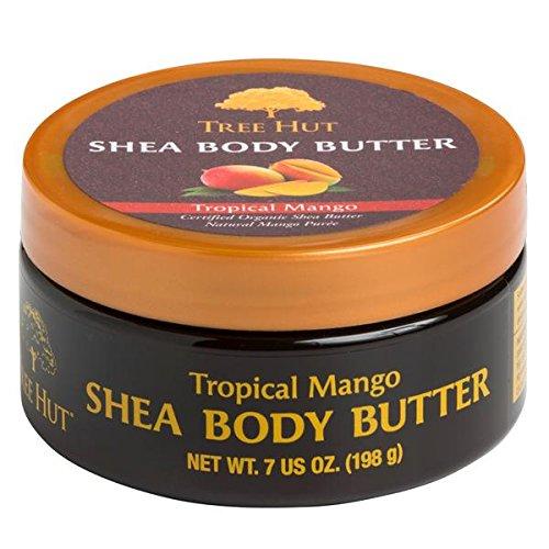 Tree Hut Tropical Mango Gift Set, 3 Piece, Body Butter, Body Wash, Sugar Scrub