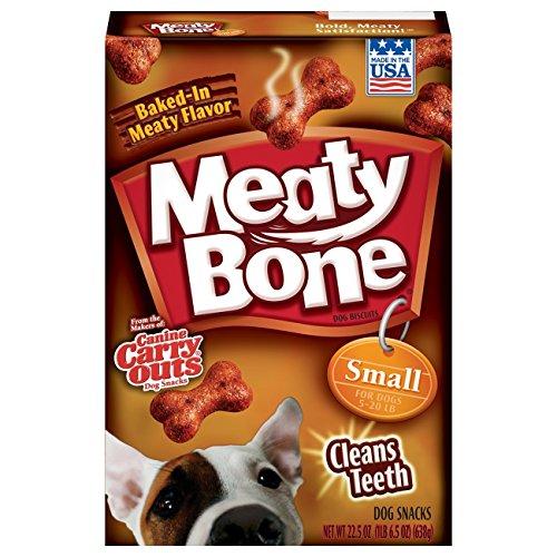- Meaty Bone Small Dog Snacks, 22.5 Oz (Pack Of 6)