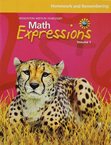 Math Expressions, Grade 5 Homework and Remembering Consumable: Houghton Mifflin Harcourt Math Expressions (Math Expressions Grade 4 Homework And Remembering)