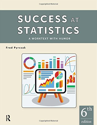 Success At Statistics:Worktext W/Humor