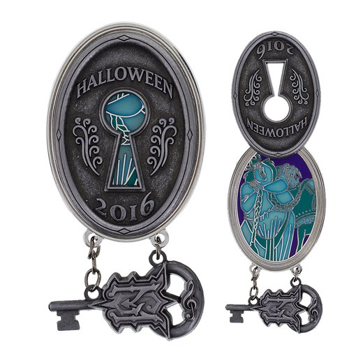 Disney Parks Mansion Halloween 2016 Lock and Key Opera Singer (Opera Singer Halloween)