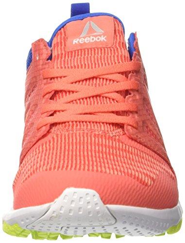 Laufschuhe Awsm 3D Reebok Wht Fire Coral Damen Yllw Orange Pnk Stellar Sol Zprint Blue xSqwZwzB