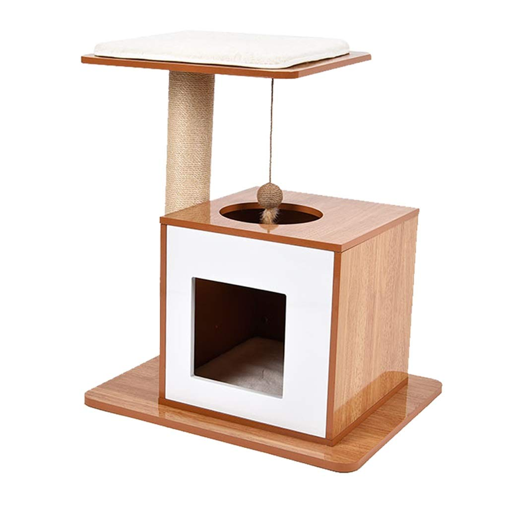 Cat Climbing Cat Bed Cat Tree Threeinone, Sisal Cat Toy, Wearable And Durable SMBYLL