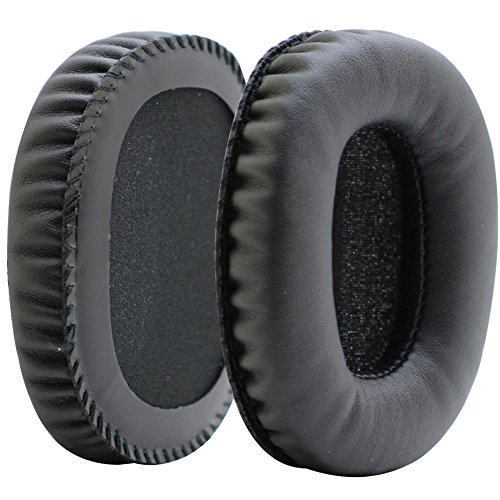 Poyatu Earpads for Marshall Monitor Headphones Replacement Ear Pads Ear Cushions Black