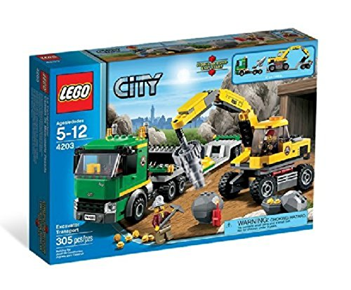 LEGO City Mining Excavator Transport - 4203