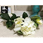 JIALELE-Artificial-FlowersFake-FlowerSilk-Flower-The-Living-Room-Decoration-Decoration-Home-Furnishing-Gardenia-FlowersWhite