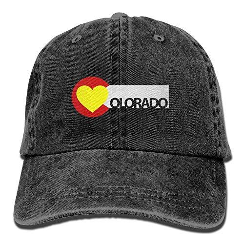 Gorras Baseball Hat Heart Tu No béisbol Soy Flag Como Female Surf Caps Colorado Denim Adjustable wp1OqtxZF
