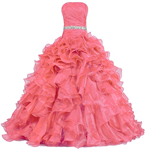 5bb046941c4 We Analyzed 767 Reviews To Find THE BEST Prom Quinceanera Dresses
