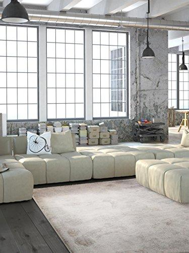 benuta Teppiche: Teppich Vintage Sky Beige 80x150 cm - schadstofffrei - 100% Polypropylen - Ornament - Maschinengewebt - Wohnzimmer