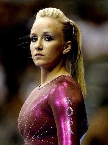 Nastia Liukin Olympic Hero Women's Gymnastics Limited Print Photo Poster 8x10 #1