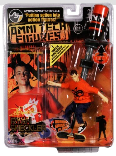 Action Sports Toys Ryan Sheckler Omni Tech Figure Omni Deck