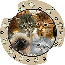 Thirstystone Kittens Car Cup Holder Coaster, 2-Pack