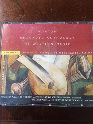 Norton Recorded Anthology of Western Music: Ancient to Baroque (6-CD set), Vol 1