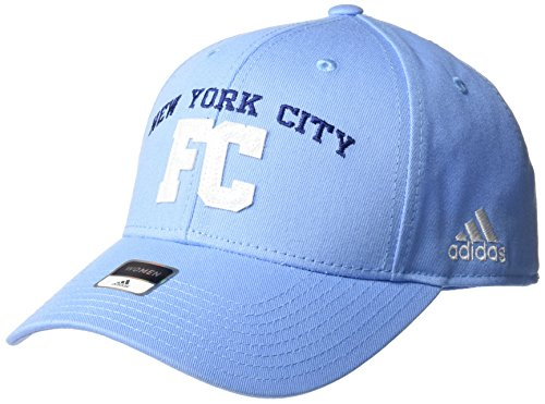 fan products of MLS New York City FC Women's SP17 Fan Wear Sequenced Structured Adjustable Cap, Blue, One Size